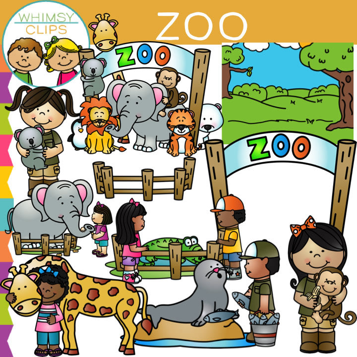 kids zoo clip art images illustrations whimsy clips rh whimsyclips com zoo clip art free zoo clipart background