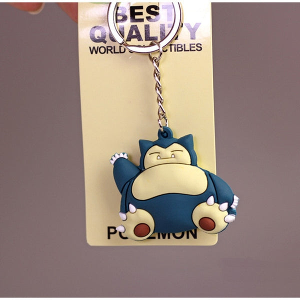 3D Pokemon Go Key Ring - Mini Charmander, Squirtle, Eevee, Vulpix and more