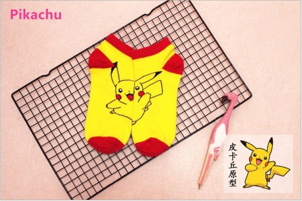 Pokemon GO Socks for Women & Men - Pikachu, Poke Ball and more