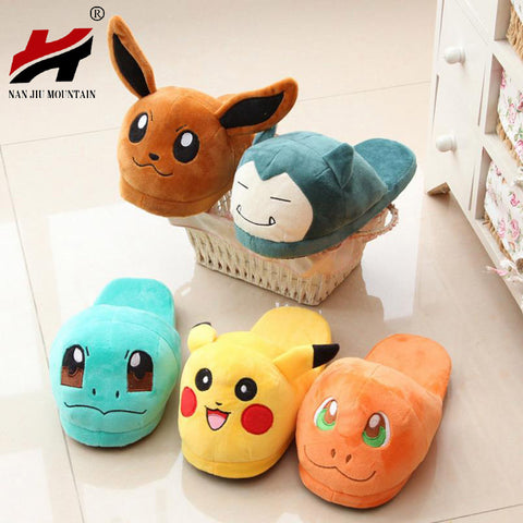Pokemon Slippers - Warm For Winter
