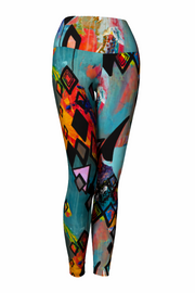 spandex colorful yoga pants