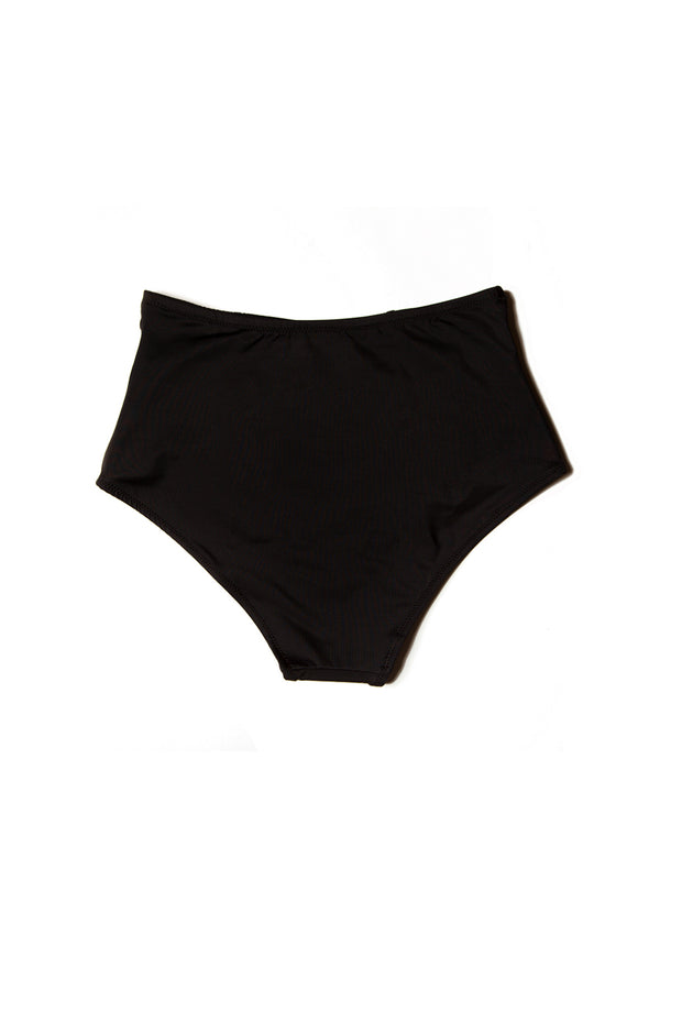 Bopsy High Waisted Bottoms — Black