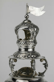 Early 20th Century English Silver Spice Tower - Menorah Galleries