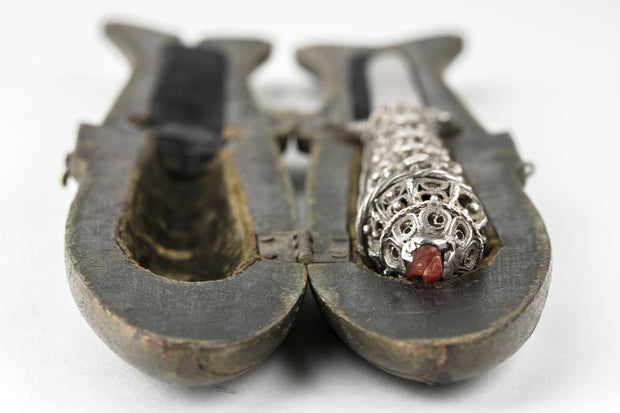Early 19th Century Galician Judaic Silver Circumcision Knife - Menorah Galleries
