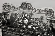 19th Century German Silver Hanukkah Lamp Menorah - Menorah Galleries