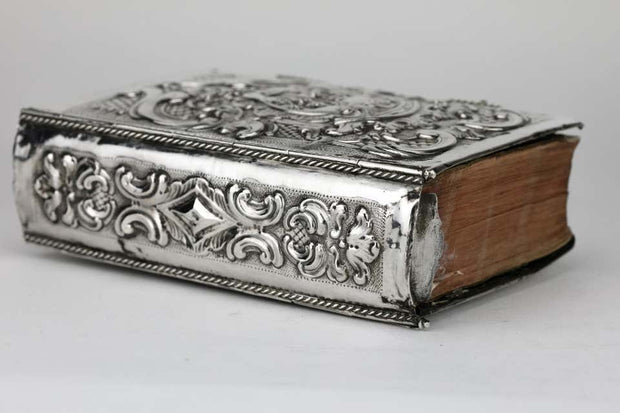 Late 18th Century Italian Silver Book Binding by Marc'antonio Belotto of Padua - Menorah Galleries