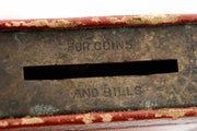 Mid-20th Century American Book Form Charity Box - Menorah Galleries