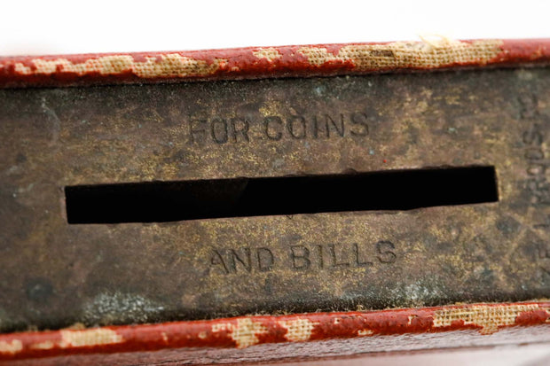 Mid-20th Century American Book Form Charity Box