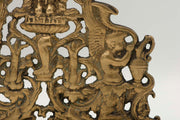 18th Century Italian Brass Hanukkah Lamp Menorah - Menorah Galleries