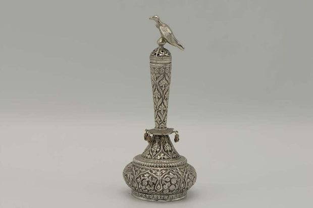 Late 19th Century Anglo-Indian Silver Havdalah Set - Menorah Galleries
