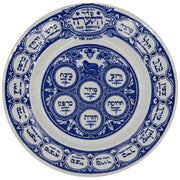 Mid-19th Century English Pottery Passover Plate