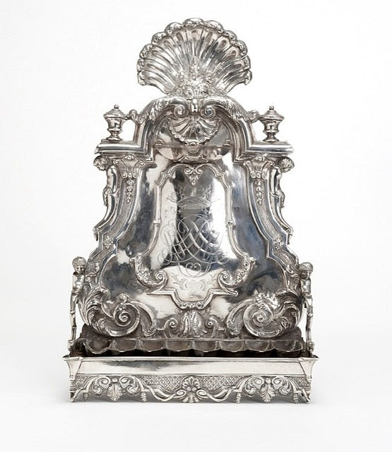 18th century Silver Amsterdam Hanukkah Lamp - Menorah Galleries
