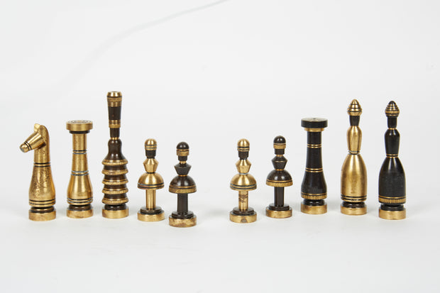 Mid-20th Century Israeli Chess Set by Hans Teppich