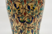 Armenian Ceramic Vase, Jerusalem, Circa 1930 - Menorah Galleries