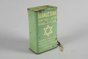 Early 20th Century Hungarian Tin Charity Box - Menorah Galleries