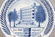 Early 20th Century Dutch Ceramic Commemorative Plate by Petrus Regout Maasticht - Menorah Galleries