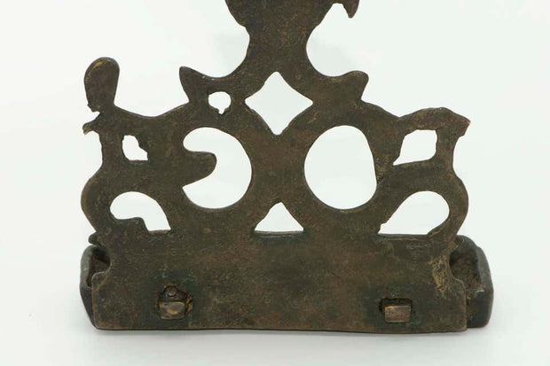 16th Century Italian Brass Hanukkah Lamp Menorah - Menorah Galleries