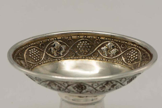 Early 20th Century Silver Charoset Dish for Passover by Felix Horovitz - Menorah Galleries
