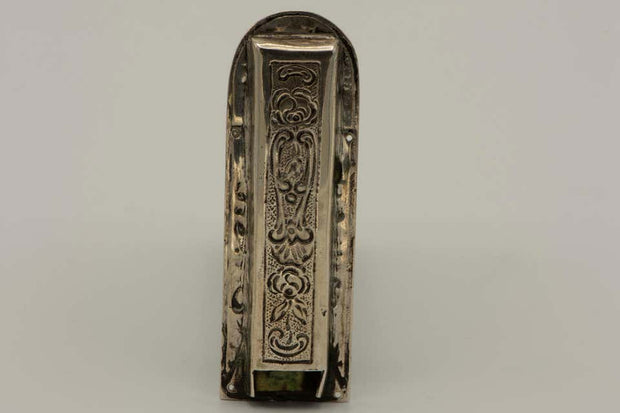 Late 19th Century German Silver Mezuzah