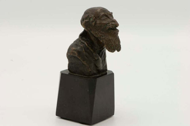 Late 19th Century Austrian Bronze of a Bearded Jew