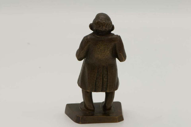 Early 20th Century American Bronze Figurine of a Jewish Businessmen
