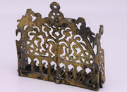 Late 19th Century Algerian Brass Hanukkah Lamp