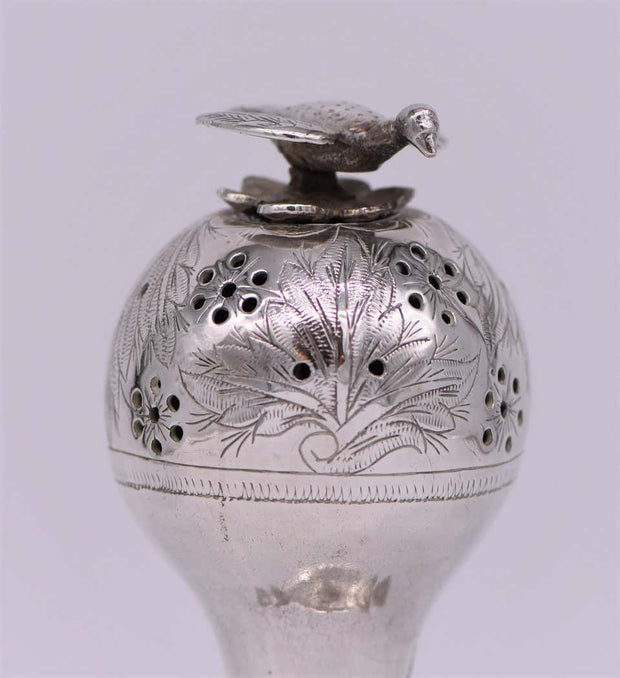 Late 19th Century Russian Empire Silver Spice Container