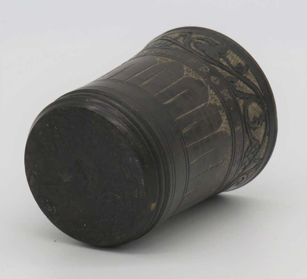Mid-19th Century Dead Sea Stone Kiddush Cup