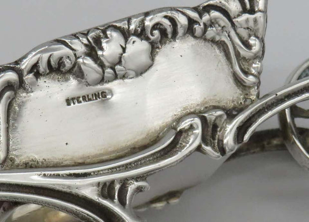 Early 20th Century American Silver Charoset Dish for Passover