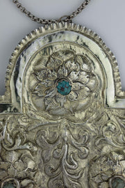 Early 19th Century Galician Silver Torah Shield