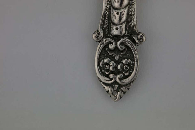 Late 19th Century German Silver Mezuzah by Adolf Mayer