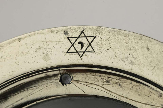 18th Century Dutch Magnify Glass, Judaica Scientific Instrument - Menorah Galleries