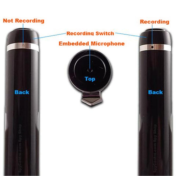 Voice Activated Digital Audio Recorder | Long 30 Day Battery Life | Date & Time Stamp | Recording Device