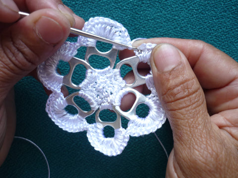 crochet with pull tabs
