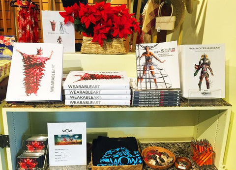 World of Wearable Art at the PEM Gift Shop
