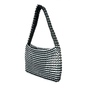 "alt=""black purse Socorro original pop top bag eco fashion by Escama Studio"""