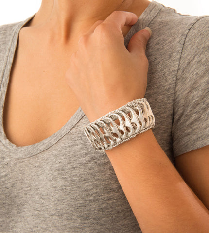 Patra Pop Top Cuff Bracelet - escamastudio - 1