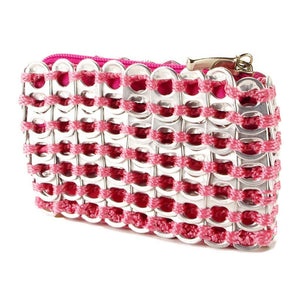 "alt=""cute coin pouch pink color from soda pop tabs by Escama Studio"""