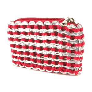 "alt=""coca cola red coin pouch from soda tabs by Escama Studio"""