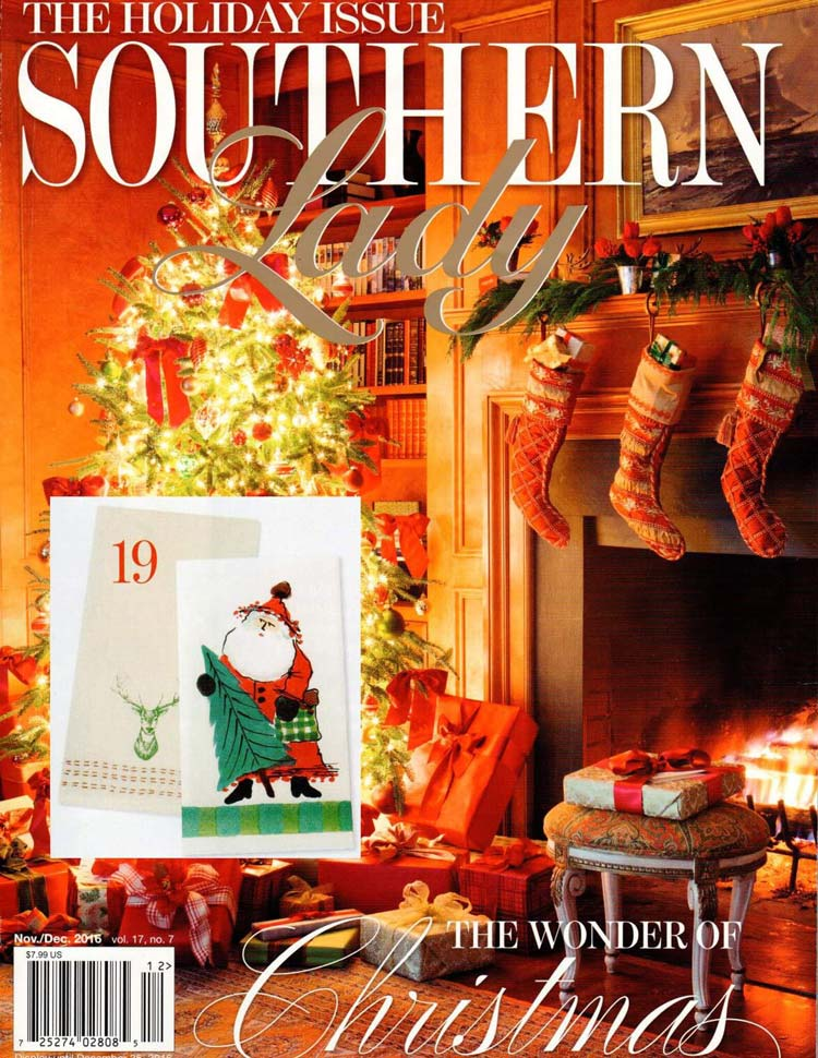 Southern Lady November December 2015 cover