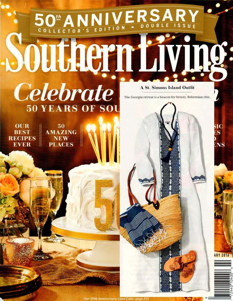 Southern Living 50th anniversary edition