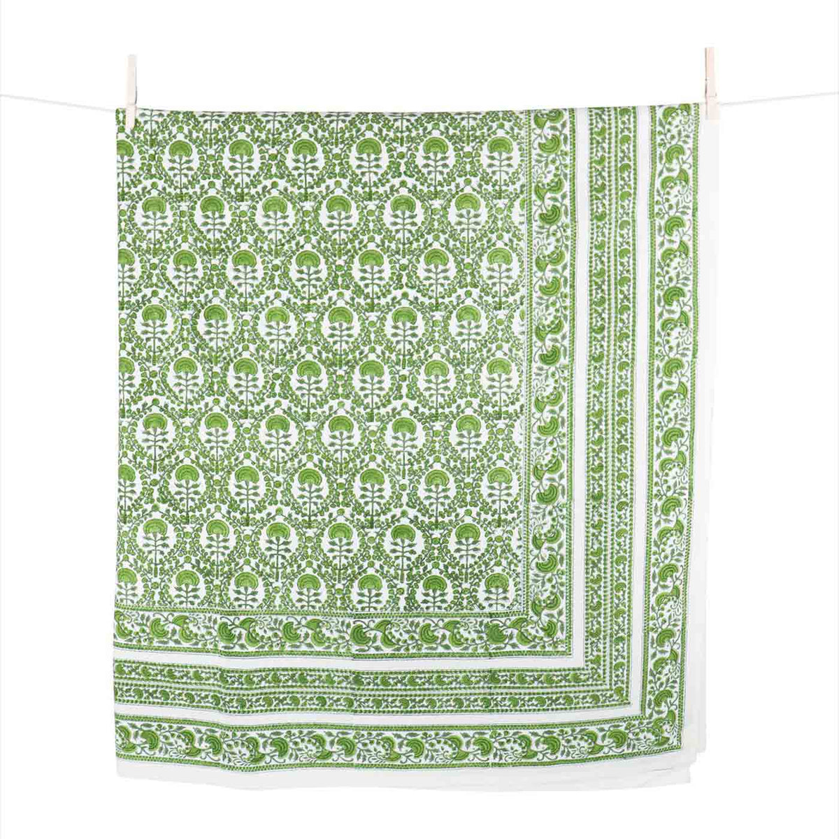Caroline Green Tablecloth