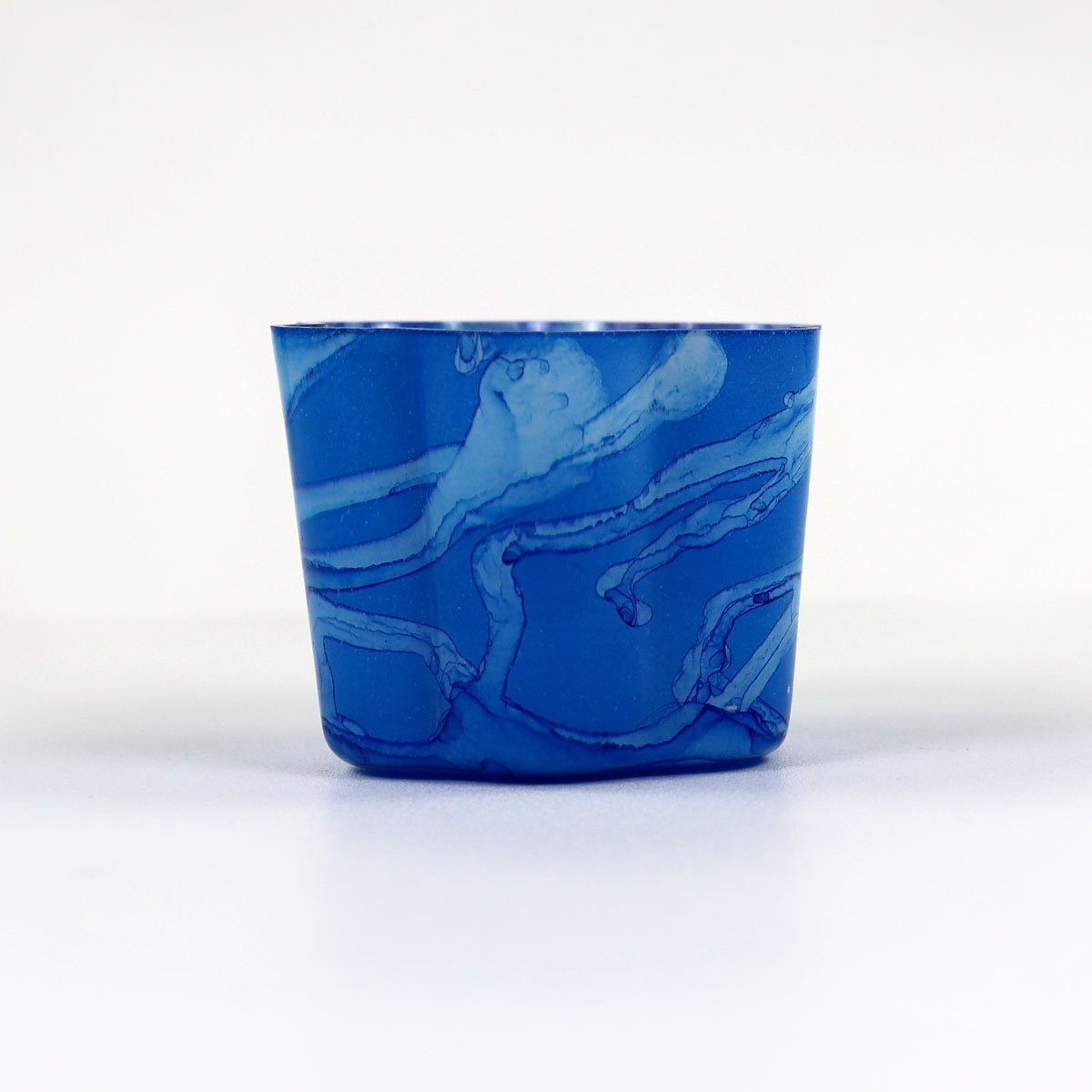Cobalt Small Petal Votive | set/4