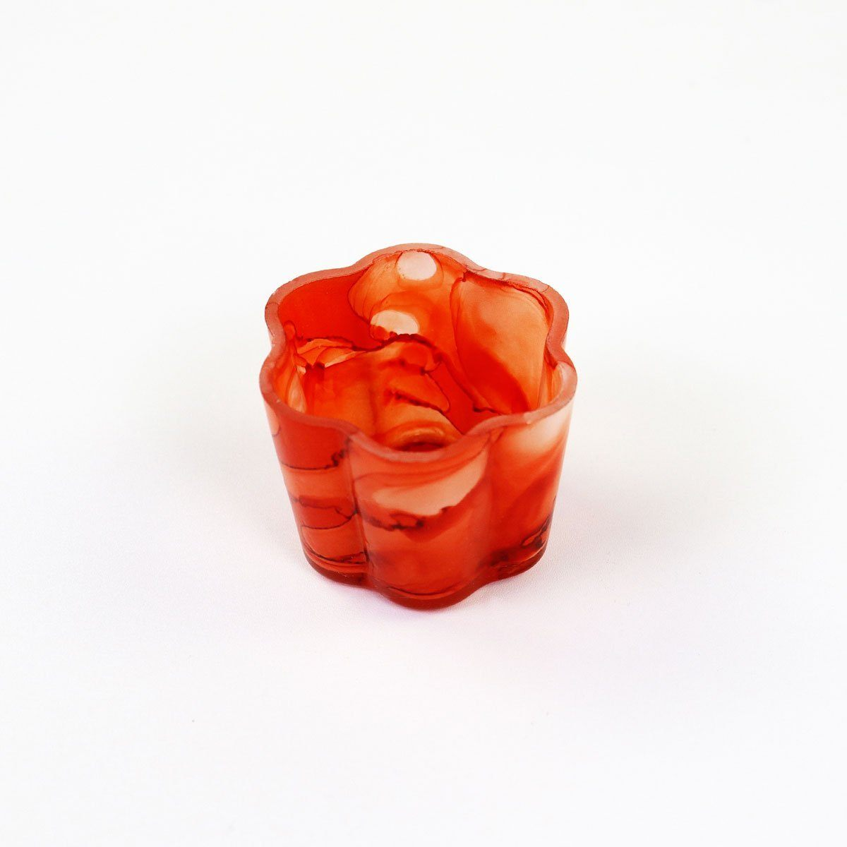 Coral Small Petal Votive | Set of 2