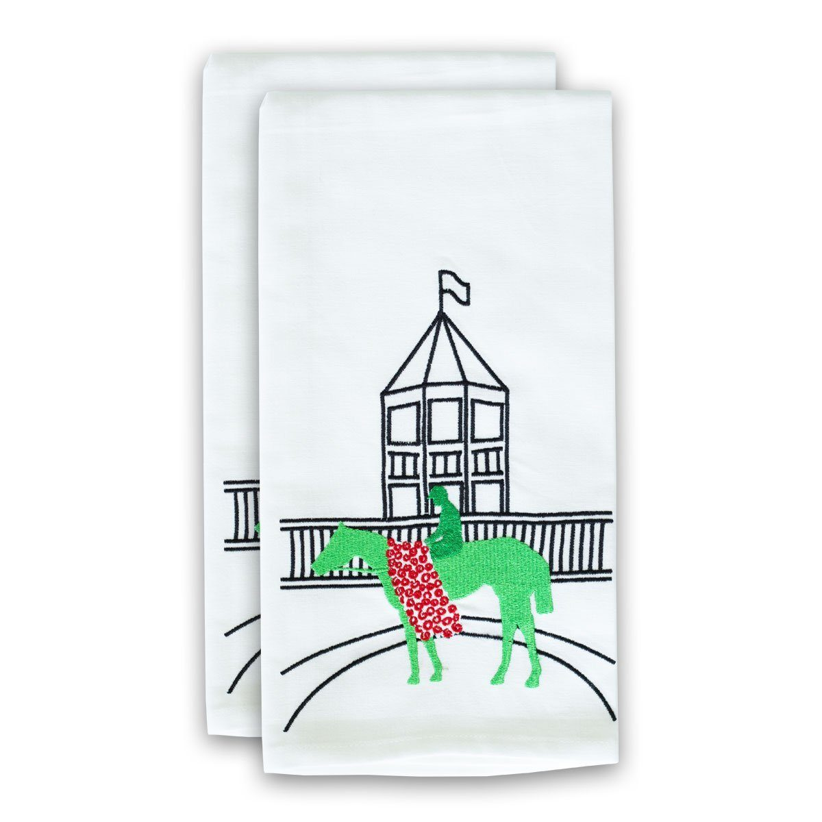 Derby Winner Tea Towel | set/2