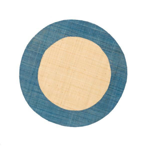 The Ford Raffia Placemats - Aqua (Set of 4)