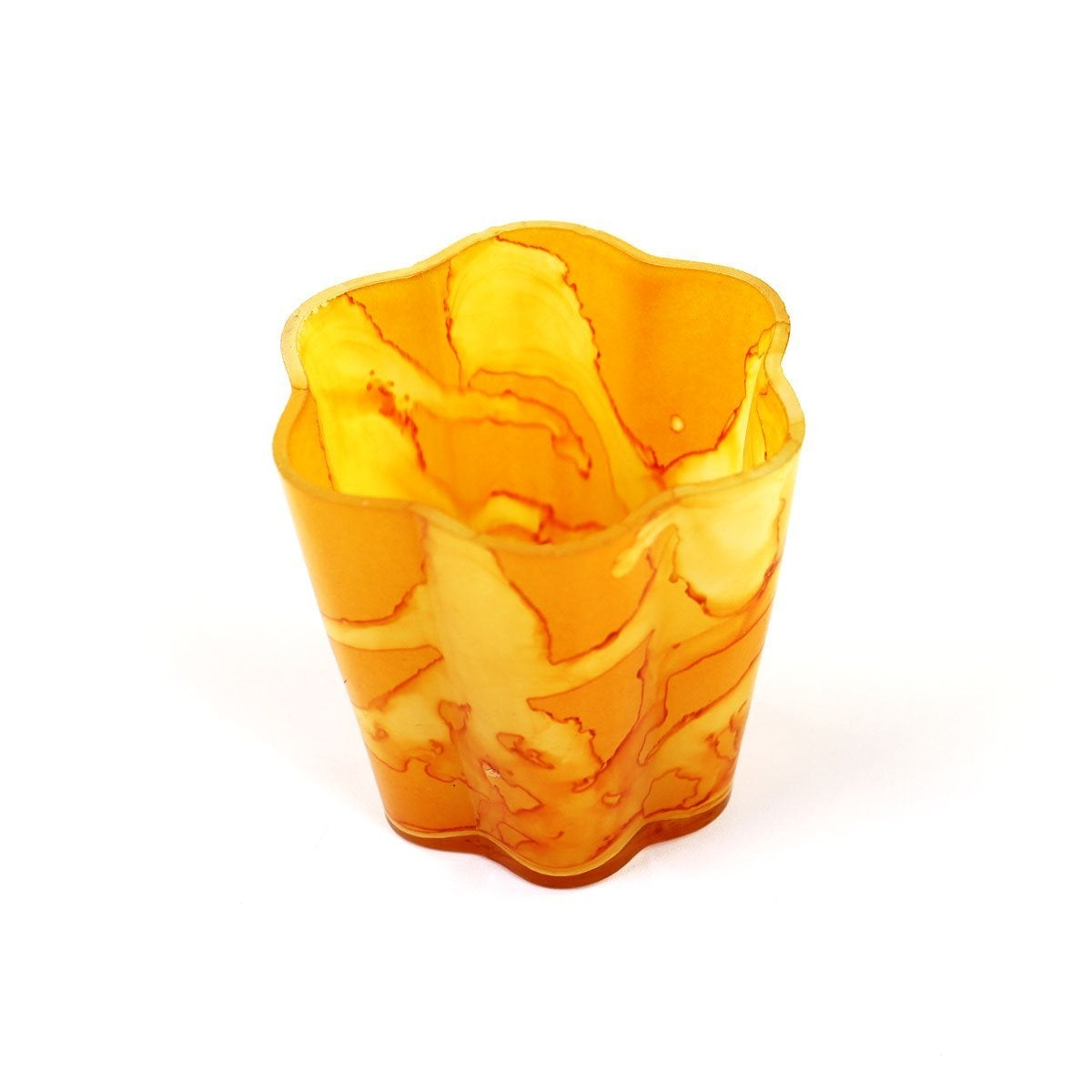 Goldenrod Large Petal Votive | Set 2