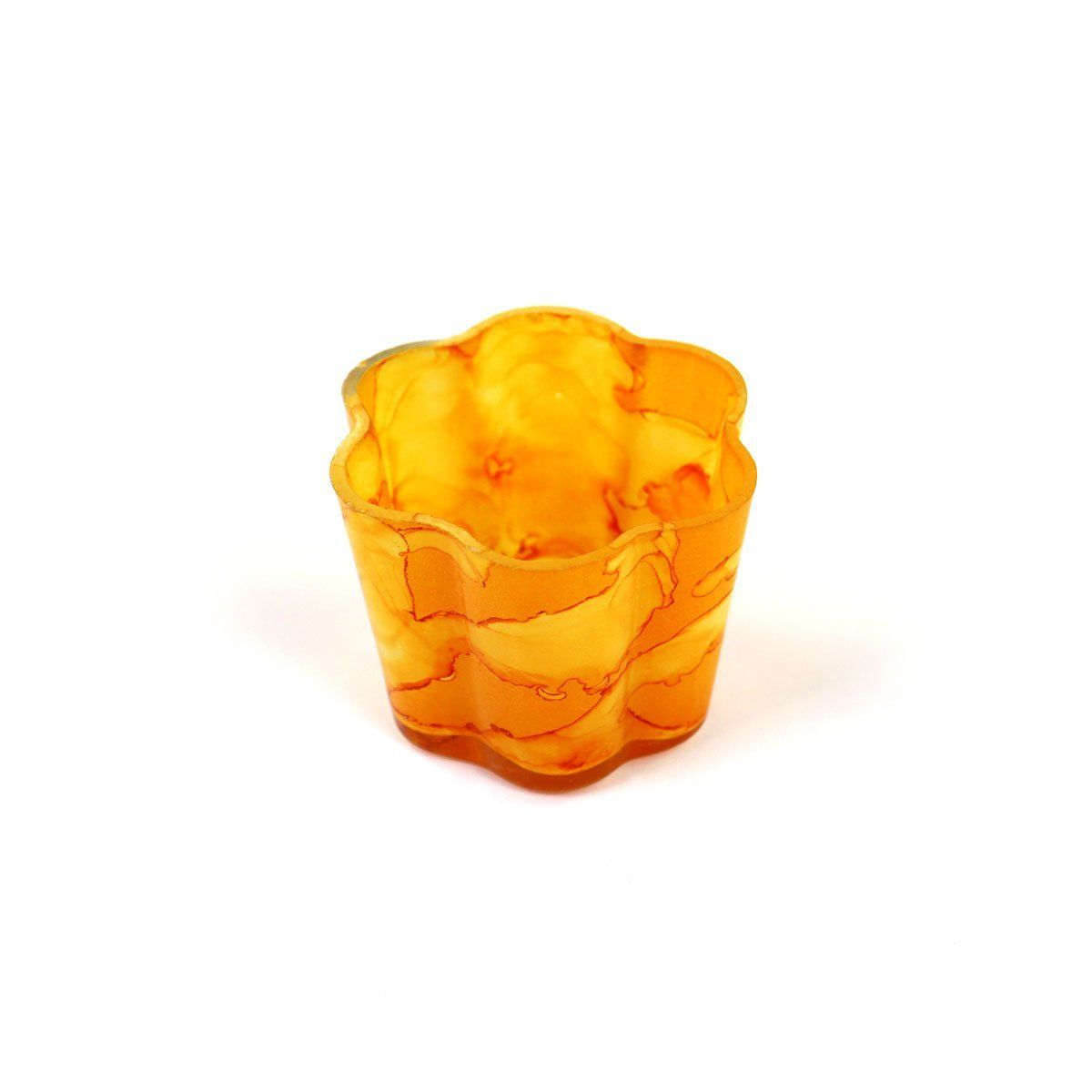 Goldenrod Small Petal Votive | Set 2
