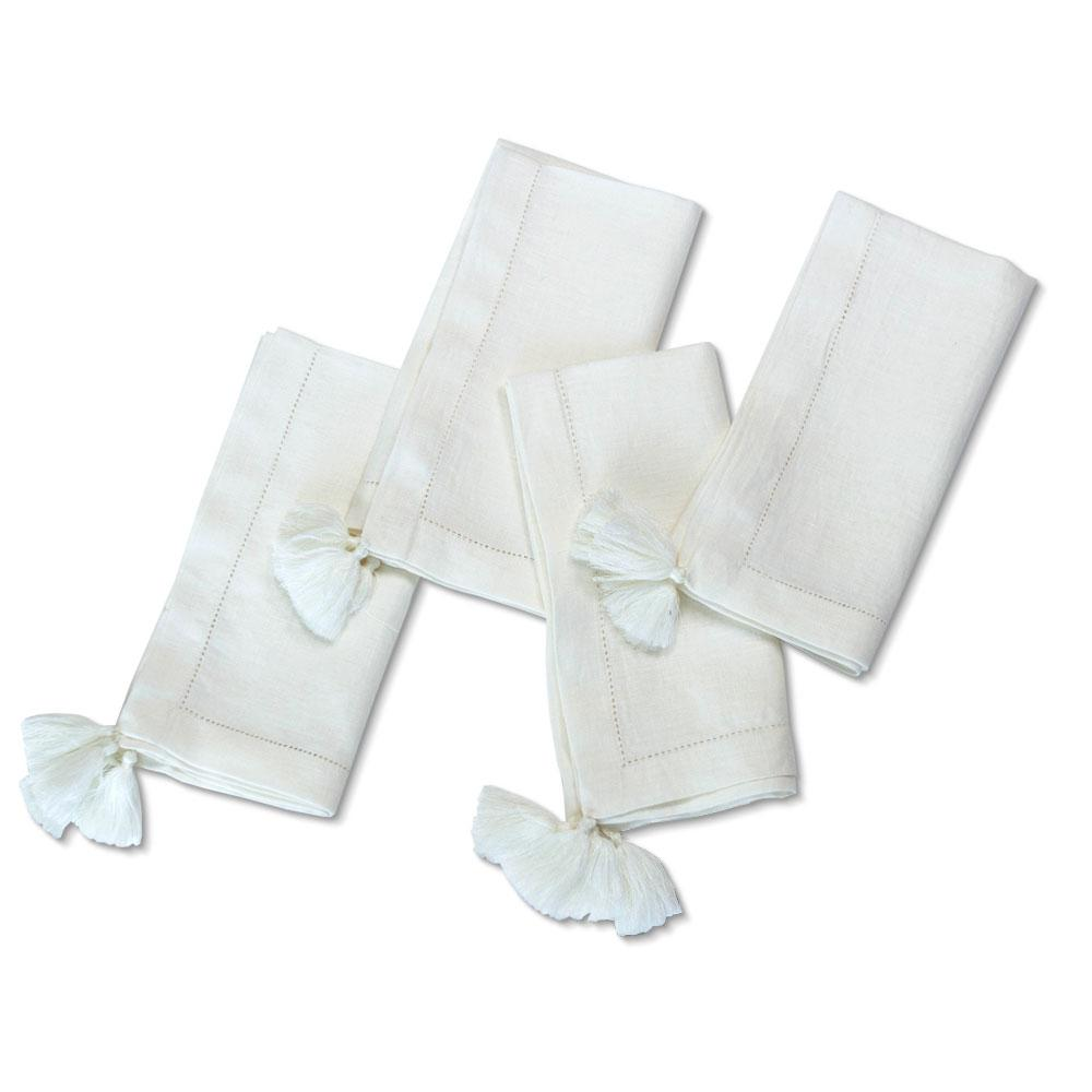 White Linen Napkin (Set of 4)