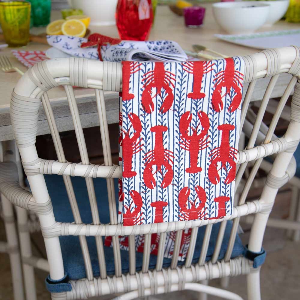 Lobster & Vine Tea Towels (Set of 2)